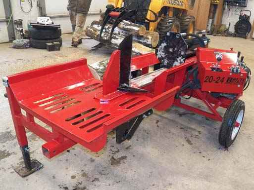 Brute Force 20-24 Log Splitter