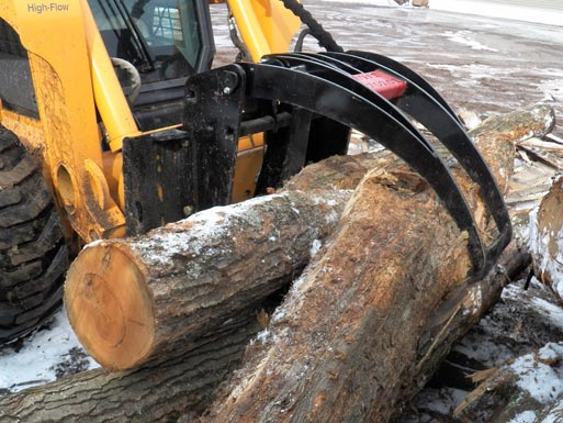 Log Grapples By Brute Force