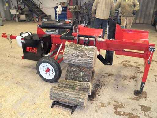 Brute Force 13-24 Log Splitter